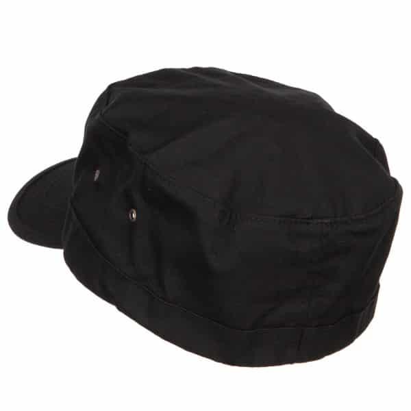 Black Army Cap - Back