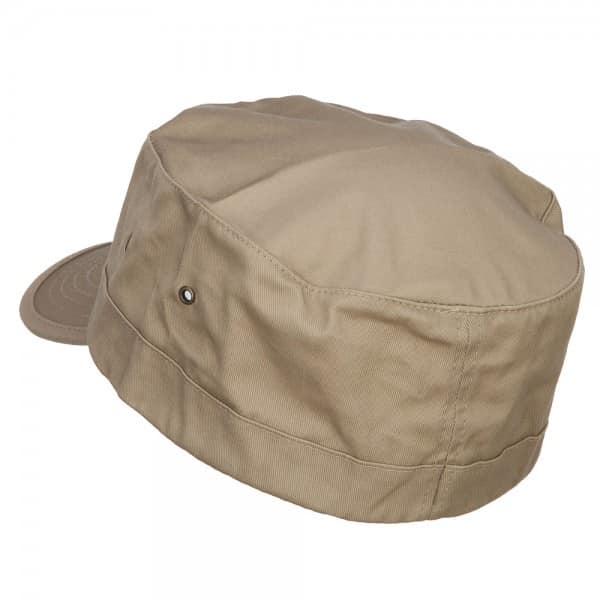 Back of Khaki Army Cap