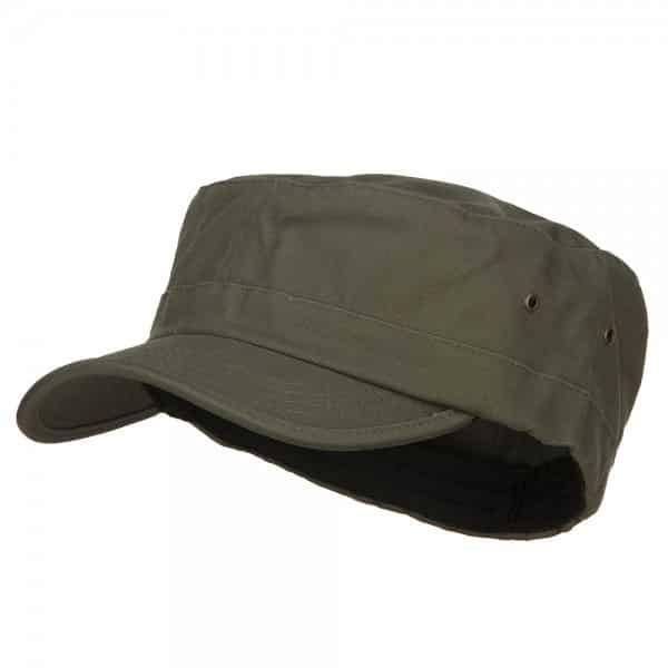 Olive Military Cap