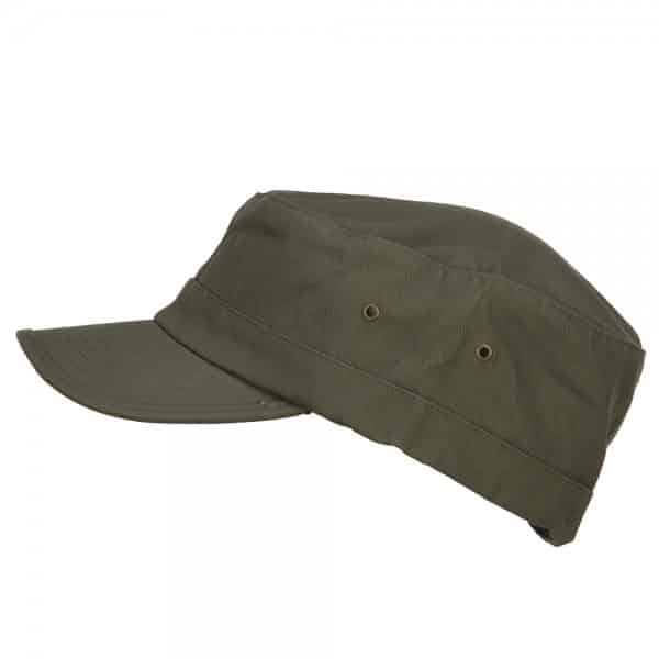 Olive Army Cap - Side