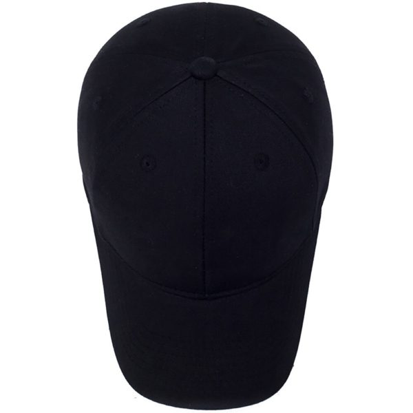 Plain Black Cap