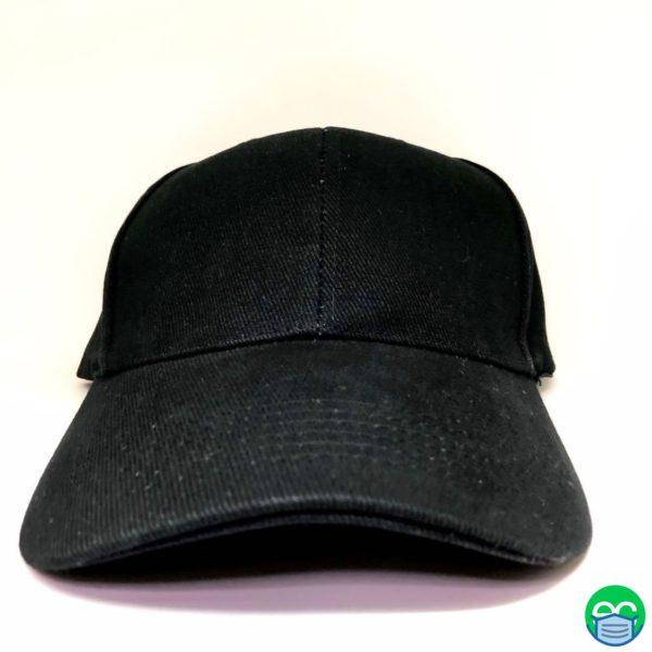 Black Cap / Black Baseball Cap - ECEmbroid