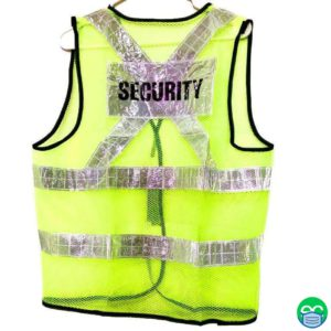 Reflective Security Vest - ECEmbroid