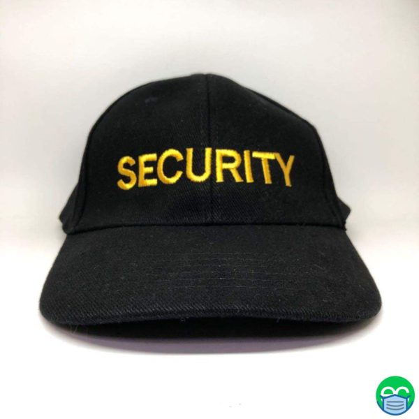 Security Guard Hat - Navy/Yellow
