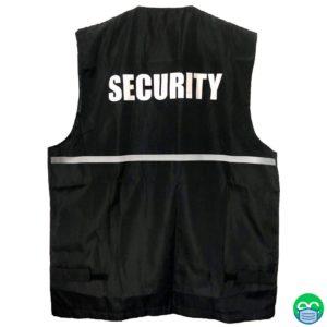 Security Reflective Vest - ECEmbroid